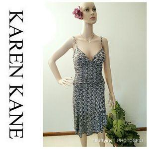 Karen Kane Spaghetti Strap Ruched Dress-Sz. S